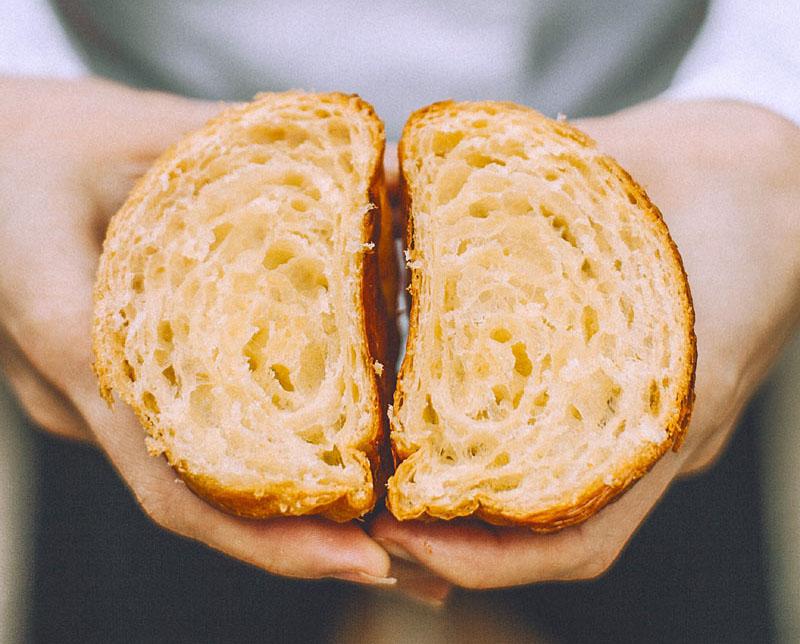 impasto croissant qwaffles